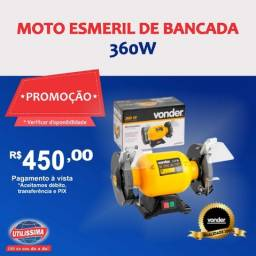 Moto Esmeril de Bancada Vonder Motor 360w