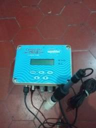 Controlador cloro ph3100,dlx ma/ad,interropitor programável sensor ph. $500.00