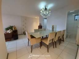 AP1198 - Apartamento com 3 quartos à venda, 117 m² por R$ 800.000 - Ponta D Areia