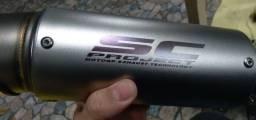 Título do anúncio: Ponteira universal moto