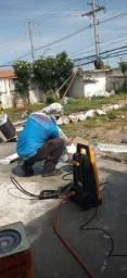 Refrigeração limpeza manutenção instalação