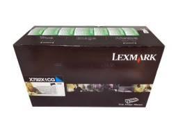 Toner Lexmark X792X1CG Cyan Original Novo