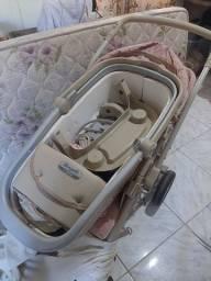 Carrinho com berço neonatal Burigotto
