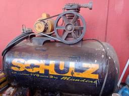 Compressor de ar schuz 175 litros em perfeito estado