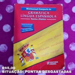 Minimanual Compacto de gramática - língua espanhola