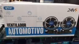 Título do anúncio: VENTILADOR AUTOMOTIVO KNUP 24V