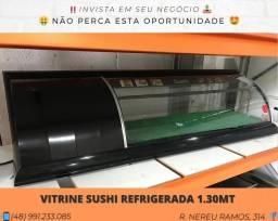 Vitrine Refrigerada 1.30 M - Seminovo - Com garantia | Matheus
