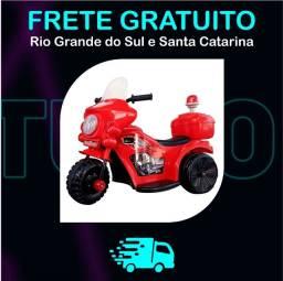 Moto Infantil Elétrica Com Luz e Som em 12X R$ 49,92 Entrega Gratuita