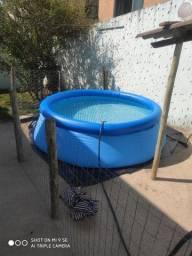 Piscina 2419 litros completa