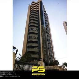 Título do anúncio: Apartamento com 4 dormitórios para alugar, 320 m² por R$ 5.500/mês - Altiplano Cabo Branco