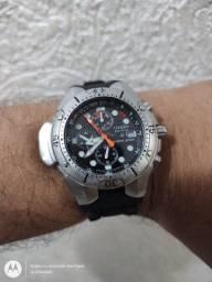 Relógio citzen aqualand ecodrive bj 2040 sensor on