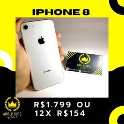 IPHONE 8 64GB (BRANCO) - GARANTIA 3 MESES