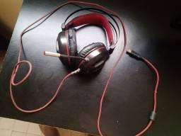 Fone headset redragon minos
