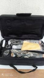 Clarinete moresky sib (nova) 17 chaves