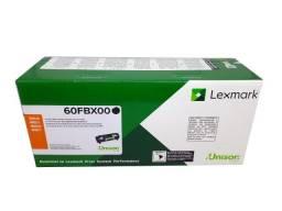 Título do anúncio: Toner Lexmark 60FBX00 / 60BX Original Novo