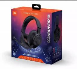Headset Gamer Jbl Quantum 200 Ps4 Xbox One Notebook Pc