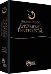 Bíblia De Estudo Avivamento Pentecostal - Preto