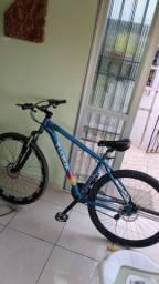 Bicicleta aro 29 azul unico