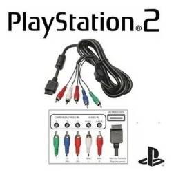 CABO COMPONENTE PARA PS2 E PS3