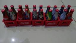 Mini garrafinhas Coca Cola