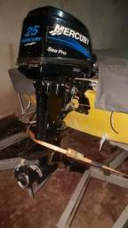 Motor de Poupa Mercury Sea Pro 25/30 - 2012