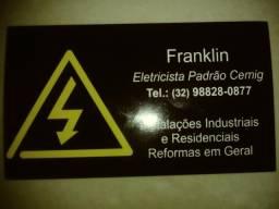 Eletricista residencial de confiança