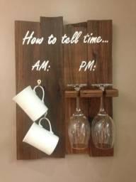 Placa quadro vinho café How to Tell Time