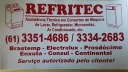 Consertos de geladeiras e freezers