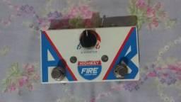 Pedal Efeito Fire Ab Box Highway Booster P/ Guitarra / Baixo