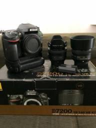 Nikon d7200 com 35mm e 50mm 1.8G