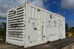 Gerador de energia cummins C1250, 1.588 KVA