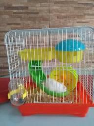 Hamster+gaiola completa
