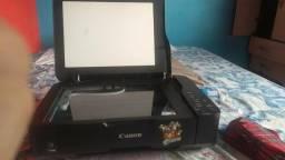 Impressora cannon com scanner
