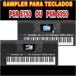 Sample 2018 para o teclado PSR - 650 , 750 , 950