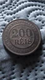 Moeda 200 réis 1899