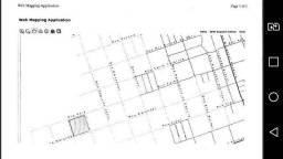 Quadra inteira medindo 145,20 x 147,40 ( total de 21.402,48 m²)