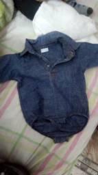 Lote de roupa de bebe menino tamanho g