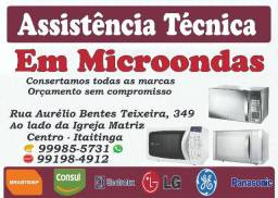 Assistência Técnica Em Microondas
