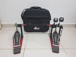 Pedal Duplo DW 5000, em perfeito estado