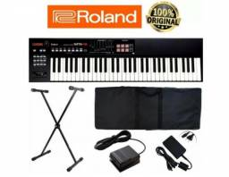 Teclado Roland Xps-10 Xps10 61 Kit Completo Promoção Top