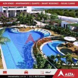 Apartamento à venda com 1 dormitórios em Águas claras, Águas claras cod:222