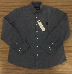 51a7f5a77e Camisa social 100% original