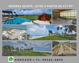 Oportunidade: Reserva Sauípe , lotes a partir de 450 m²- Destino Sauípe