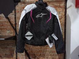 Jaqueta Cordura feminina Alpinestars Stella Alux Waterproof Textile Tam L Nova