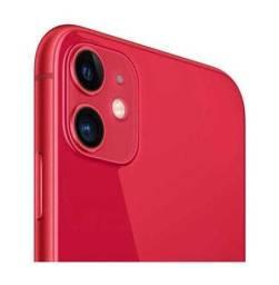 """IPhone 11 Vermelho, com Tela de 6,1"""""""