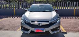 Honda Civic Touring, 16/17, 1.5Turbo, Teto Solar, Gasolina! CARRO QUITADO!