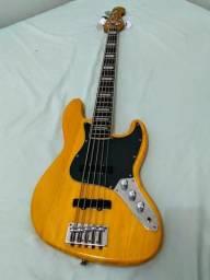 Baixo jazz Bass Luthier comprar usado  Campo Grande