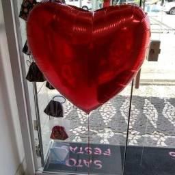 Balao coração gigante 32 polegadas vazio