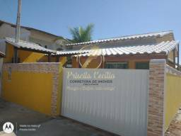 CA 2070 Casa com 2 dorm. à venda, 55 m² por R$ 170.000 Rua Marlim Azul - Cabo Frio/RJ