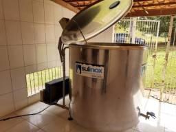 Tanque de leite 1500L em inox Sulinox 220b seminovo